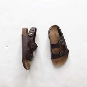 Old Navy brown Birk like sandals EUC size 10